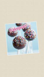 Cakepops (chupachups de bizcocho cubiertos de chocolate)